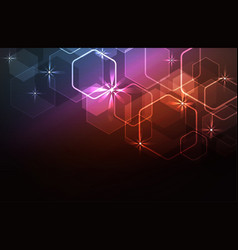 glare light background vector image vector image
