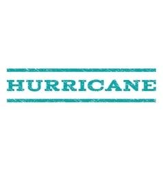 Hurricane watermark stamp vector