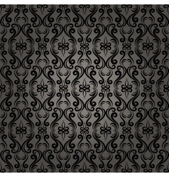 Damask Baroque Seamless Pattern Background vector image vector image