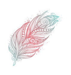 native american indian talisman tribal vector image vector image