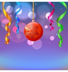 New year composition vector image vector image
