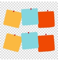 NOTES vector image