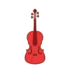 Cello icon cartoon style vector image vector image