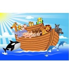 noah ark vector image vector image