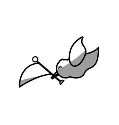 Dove flag symbol image vector