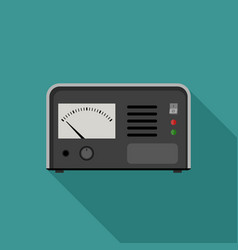 Electric tester icon vector