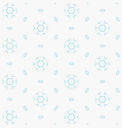 elegant light blue abstract pattern vector image