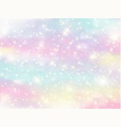 Galaxy fantasy background and pastel color vector