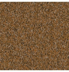 Seamless knitted pattern Woolen cloth vector