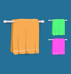 set of kitchen towels vector image