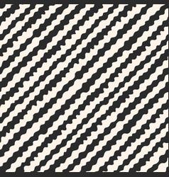 stripe pattern wavy line texture diagonal pattern vector image vector image