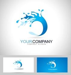 Water Logo Design Creative vector