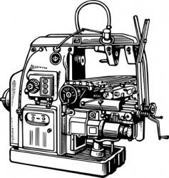 Machine tool vector