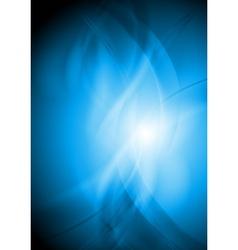 Colourful wavy backdrop vector image vector image