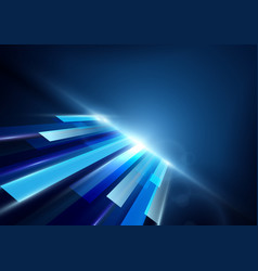 abstract futuristic technology concept background vector image