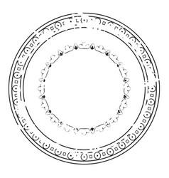 decorative grunge stamp v1 vector image
