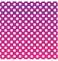 Halftone fade gradient background white and pink vector