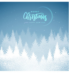 Winter seasonal holiday christmas background vector