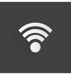 Wireless web icon vector image vector image