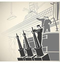 Workers5 vector image