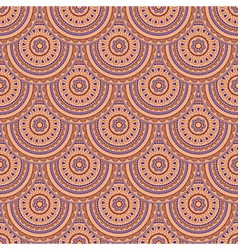 seamless eastern style vector image