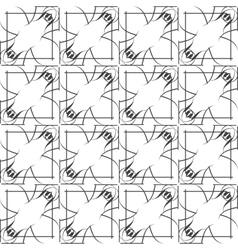 Simple geometric pattern - lines on vector image