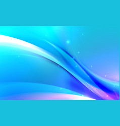 abstract wavy with blurred light curved lines vector image