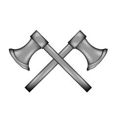 axe sign icon vector image