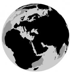 earth Europe vector image