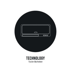 Fan icon Internet of things design vector
