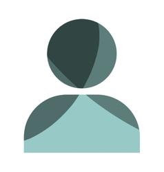 Head human profile icon vector