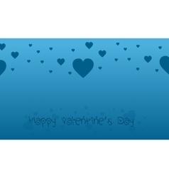 Love for valentine backgrounds collection vector