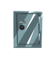 Metal safe armored box data protection vector