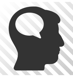 Person Thinking Icon vector