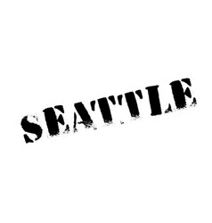 Seattle rubber stamp vector