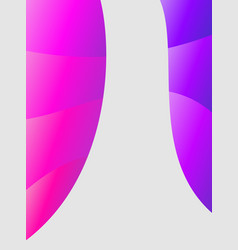 trendy cover abstract dynamic colors gradient vector image