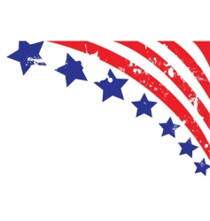 american flag elements vector image