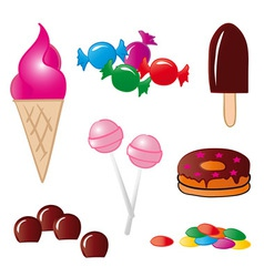 Sweet Food vector image