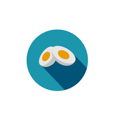 egg graphic design template isolated vector image