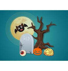 Halloween icon collection set 3 vector