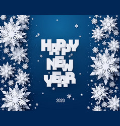 happy new year holidays background vector image