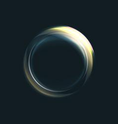 Magic circle light effects vector