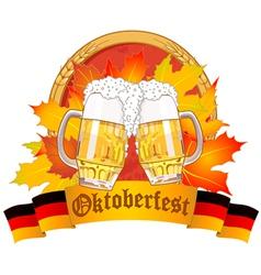 Oktoberfest design vector
