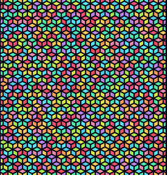 Seamless bright cube pattern vector