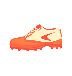 Sportive sneakers special footwear part of vector