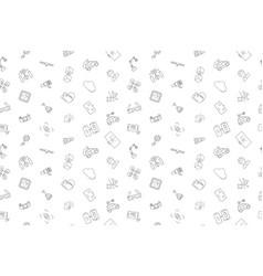 technology pattern vector image
