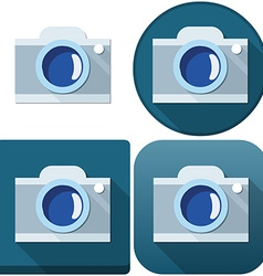 Camera Icon Pack vector image