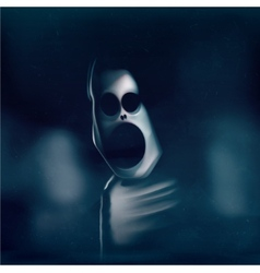 Ghost Attack vector image