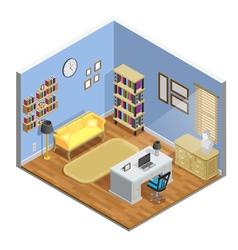 Study Room vector image vector image