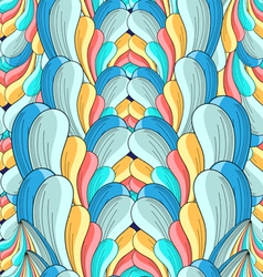abstract multicolored pattern vector image